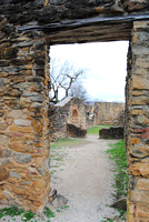 San Antonio, TX - Mission Espada - Door