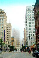 Milwaukee - Downtown Fog