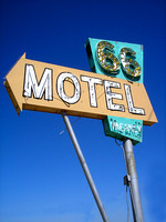 Needles, CA - 66 Motel Sign