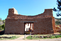 Jemez State Monument, NM - Gisewatowa Pueblo Church - 2