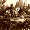 Hernando De Soto discovering the Mississippi River
