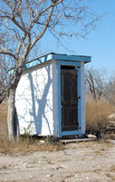 Spofford, TX - Church Outhouse