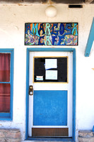 Death Valley Junction, CA - Amargosa Cafe Door