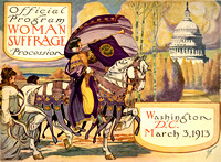 Woman Suffrage Procession, 1913