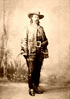 Buffalo Bill Cody, scout and entertainer