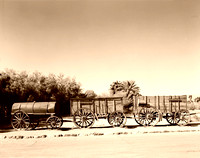 Death Valley, CA - 20-Mule Team Borax Wagons