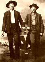 Cole and Jim Younger,  outlaws