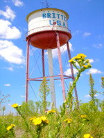 Britten, TX - Water Tower