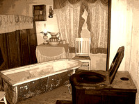 1880 Town, SD - Bath Time Art