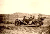 An old car in Montana, 1912