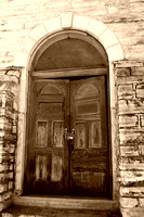 Del Rio, TX - Old Methodist Church Doors