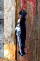 Douglas, WY - White Wolf Saloon Door Handle