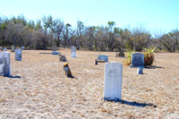 Bracketville, TX - Seminole Indian Scouts Cemetery - 2