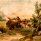 Buffalo Hunt in the Wild West, 1807