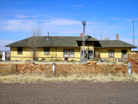 Ancho, NM - Depot