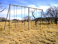 Ancho, NM - School Swings