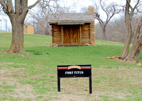 Lecompton, KS - Fort Titus