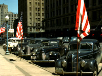 Lincoln, NE - Business District, 1942