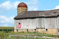Belle Plaine, IA - Patriotic Barn