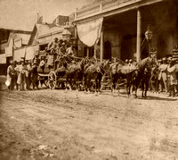 California Stage Co. in Nevada, 1866