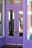 Guthrie, OK - Purple Doors