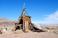 Bonnie Claire, NV - Old Mining Structure