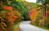 Arkansas - Colorful drive