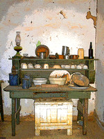Shakespeare, NM - Grant House Kitchen Enhanced