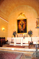 San Antonio, TX - Mission Concepcion - Church Interior