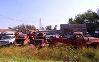 Chase, KS - Old Cars