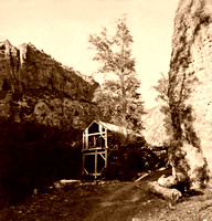 American Fork Canyon - Old Mill, 1874
