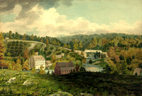 Mill on the Brandywine River, DE, 1818