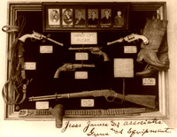 Jesse James and associates guns and equipment