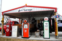 Caney, KS - Gary's Garage Gas Pumps