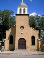 Los Cerrillos, NM - Church