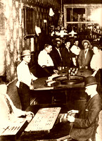 Columbia, NV - Gambling at the Merchants Hotel - 2