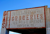 Dryden, TX - Mercantile Sign