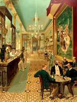 New York City, NY - Hoffman House Bar, 1890