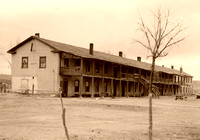 Fort Laramie, WY - Barracks, vintage