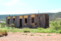 Cuervo, NM - Boxcar Building