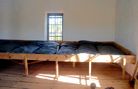 Fort Laramie, WY - Guardhouse soldier bunks