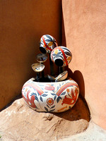 Santa Fe, NM - Painted Pottery