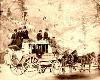 Deadwood, SD - Stagecoach, 1889 - 2
