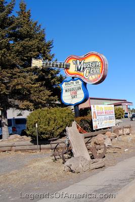 Flagstaff, AZ - Museum Club Sign