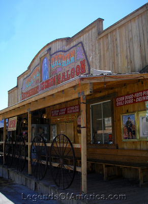 Oatman, AZ - Olive Saloon