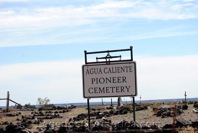 Agua Caliente, AZ - Pioneer Cemetery