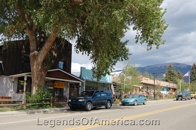 Eagle Nest, NM - Main Street - 2