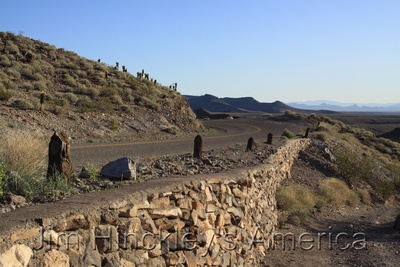 Sitgreaves Pass,  AZ - National Old Trails Highway, Route 66 - 2