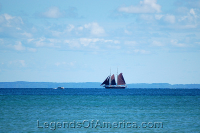 Suttons Bay, MI - Sailing Ship