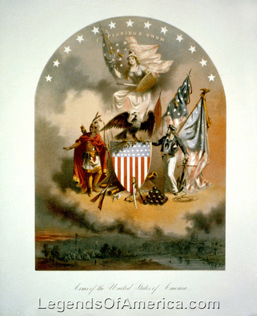 Arms of the United States, 1864